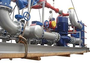 山东宏鹏热力泵循环系统